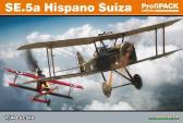 Eduard SE.5a Hispano Suiza - ProfiPack
