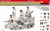 MiniArt German Tank Crew, winter uniforms