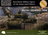 Plastic Soldier British Cromwell Tank (5 vehicles)