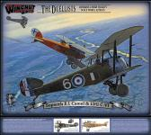 Wingnut Wings Sopwith F.1 Camel and LVG C.VI