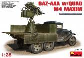 MiniArt Gaz-AAA w Quad M4 Maxim