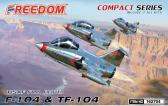 Freedom Model Kits F-104 & TF-104 USAF Starfighter