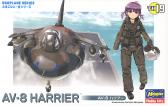Bandai AV-8 Harrier Eggplane series