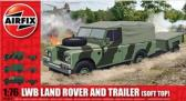 Airfix LWB Land Rover (Soft Top) and