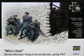 "Master Box Ltd German Mountian Troops & Soviet Marines, Spring 1943 - ""Who's that?"""