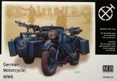 Master Box Ltd BMW R75 German WWII Motorcycle