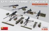 MiniArt U.S. Machine Gun Set (incl. PE)