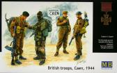 "Master Box Ltd British Troops ""Caen 1944"""