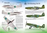 "Research Based Design J26 Mustang ""Swedish Air Force"" Part III - Decals"