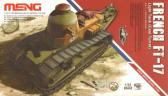 "Meng French FT-17 Light Tank ""Cast Turret"""