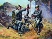 Zvezda German 81 mm Mortar w Crew