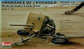 Vulcan British Anti-Tank Gun Ordnance QF 2 Pounder