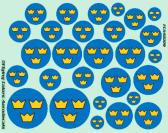 Flying Colors Aerodecals Swedish National Insignia - 1937-1940