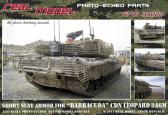 Real Model Leopard 2A6M CDN - Acc. New Short Slat Armor (HBB)
