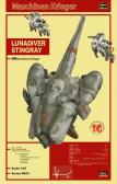 Hasegawa Lunadiver Stingray With Fireball SG & SG Prowler Suits