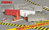 Meng Concrete & Plastic Barrier Set