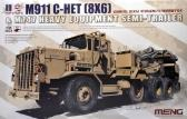 Meng M911 C-HET and M747 Heavy Equipment Semi-Trailer