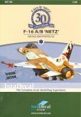 "IsraDecal F-16A/B ""Netz"""