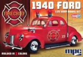 Model Products Corporation 1940 Ford Fire Chief