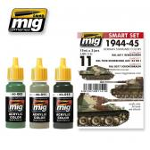 Ammo Mig Jimenez 1944-1945 German Standard, color set 3x17.