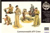 "Master Box Ltd Commonwealt AFV Crew ""North Africa"""