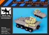 Black Dog Australian ASLAV - Accessories Set (TRU)