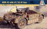 Italeri ABM42 with 47/32 AT Gun