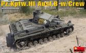 MiniArt Pz.Kpfw.III Ausf.B with Crew