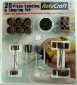 Shesto Ltd 25pc Sanding & Shaping set