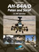 IsraDecal AH-64A/D Peten and Saraf in IAF Service - Book