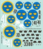 Flying Colors Aerodecals J8 (Gloster Gladiator)