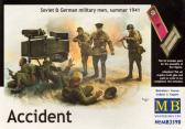 Master Box Ltd Accidernt, Soviet & German Military Men 1941