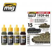 Ammo Mig Jimenez 1939-1944 German Standard, color set 4x17ml.
