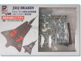 "Pit-Road J35J Draken ""Grey Camouflage"" - Prepainted"