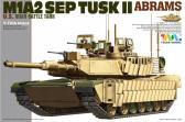 Tiger Model M1A2 TUSK II ABRAMS