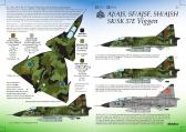Research Based Design SAAB AJ37/AJS37/AF37/AJSF37/AJSH37/SK37/SK37E Viggen - Decals