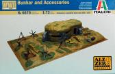 Italeri Bunker and Accessories