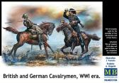 Master Box Ltd British & German Cavalrymen, WWI era