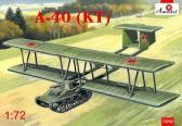 A-Model Antonov A-40 (KT) prototype flying tank using T-60