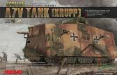 Meng A7V Tank (Krupp)