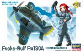 Hasegawa Focke-Wulf Fw190A Eggplane Series