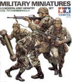 Tamiya US Modern Infantry Set