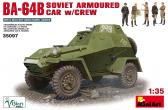 MiniArt BA-64B Soviet Armored Car w Crew