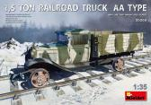 MiniArt 1,5 TON RAILROAD TRUCK AA TYPE