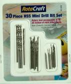 Shesto Ltd 30pc HSS Mini Drill Bit set