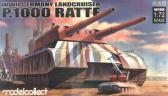 Modelcollect - MCT WWII Germany Landcruiser P.1000 Ratte