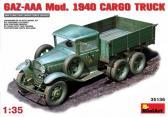 MiniArt GAZ-AAA Mod 1940 Cargo Truck