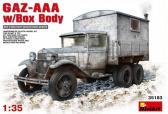 MiniArt GAZ-AAA w/Shelter