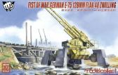 Modelcollect - MCT Fist of War German E-75 128mm Flak 40 Zwilling