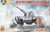 Modelcollect - MCT Fist of Wars German WWII E75